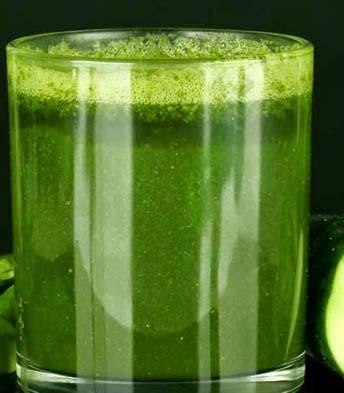 sok zielony